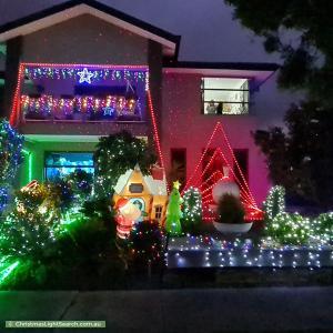 Christmas Light display at 77 Marriott Boulevard, Lyndhurst