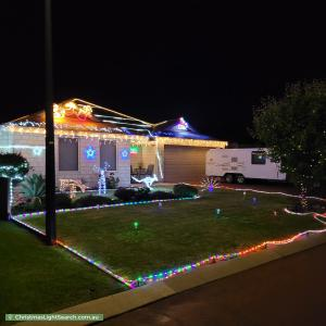 Christmas Light display at 50 Switchback Parade, West Busselton