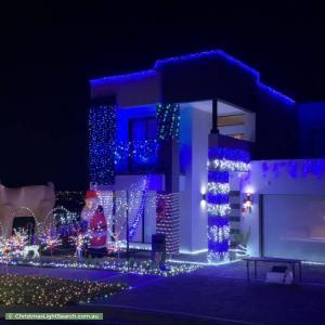 Christmas Light display at  Stratton Road, Oran Park
