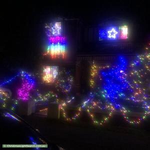 Christmas Light display at 51 Lorraine Avenue, Bardwell Valley