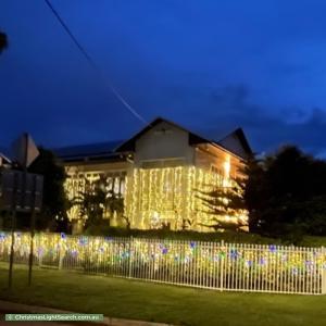 Christmas Light display at 2 Zealandia Crescent, Larrakeyah