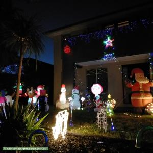 Christmas Light display at 7 View Park Circuit, Narre Warren South