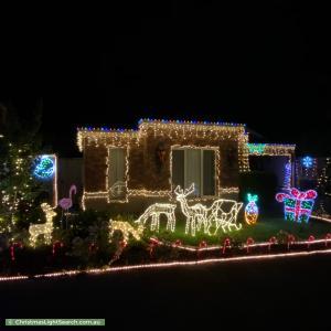 Christmas Light display at 11 Sunnybrae Drive, Mernda