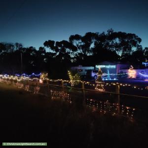 Christmas Light display at  Ronda Avenue, Roseworthy