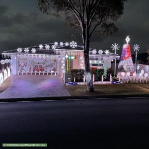 Christmas Light display at 39 Whipbird Circuit, Victoria Point