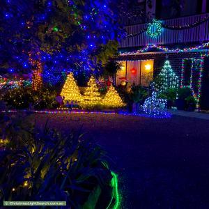 Christmas Light display at 79 Nari Drive, Sheidow Park