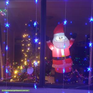 Christmas Light display at 15A Lutwyche Street, Higgins