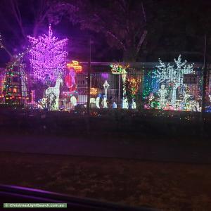 Christmas Light display at 3 Mainwaring Crescent, Davoren Park