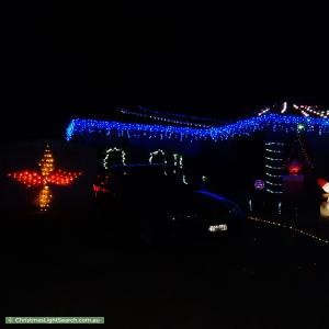 Christmas Light display at 7 Gregory Court, Cranbourne North