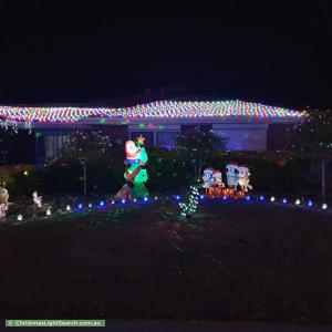 Christmas Light display at 3 Jenkins Court, Craigmore