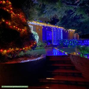Christmas Light display at 12 Sheehan Street, Pearce