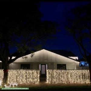 Christmas Light display at  Malvern Avenue, Malvern