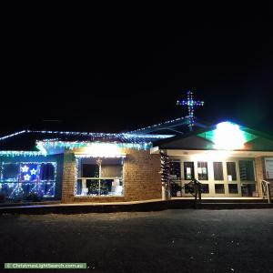 Christmas Light display at  Manning Road, Flagstaff Hill