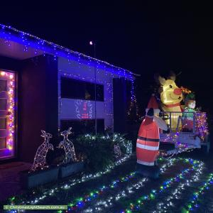 Christmas Light display at  Clements Street, Griffin