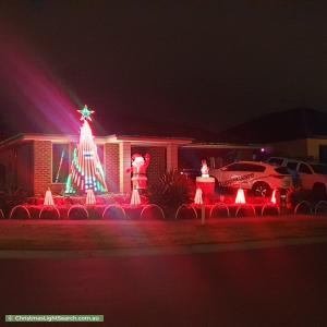 Christmas Light display at 152 Manna Gum Drive, Pakenham