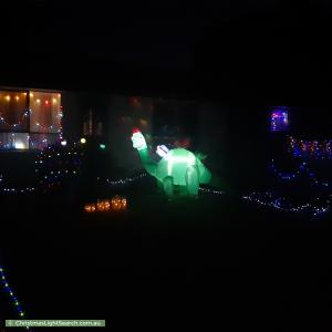 Christmas Light display at 37 Timewell Crescent, Boronia