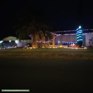 Christmas Light display at 26 Koongarra Crescent, Munno Para