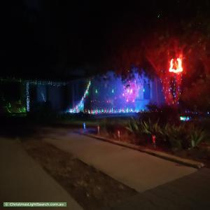 Christmas Light display at 24 Koongarra Crescent, Munno Para
