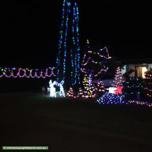 Christmas Light display at 313 Torquay Road, Grovedale