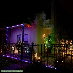 Christmas Light display at 323 Mawson Lakes Boulevard, Mawson Lakes
