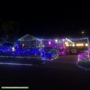 Christmas Light display at 3 Hayride Lane, Chirnside Park