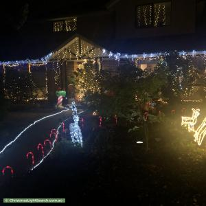 Christmas Light display at 50 Gertonia Avenue, Boronia
