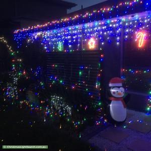Christmas Light display at 7 Miljanovic Street, Forde