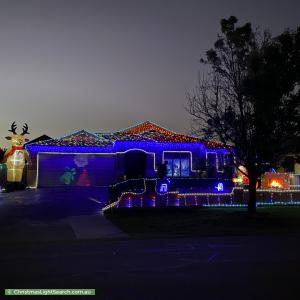 Christmas Light display at 7 Toulouse Terrace, Narre Warren South