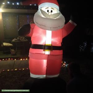 Christmas Light display at 3 Malmo Court, Hackham West