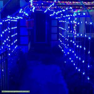 Christmas Light display at 2A Tilden Street, Plympton
