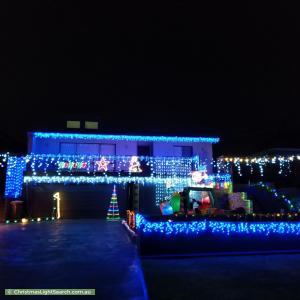 Christmas Light display at 18 Arthur Street, Ryde