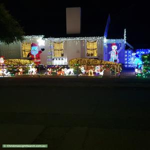 Christmas Light display at 13 Brooklyn Avenue, Brooklyn Park