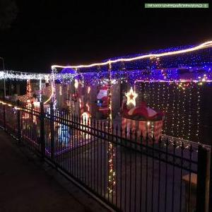 Christmas Light display at 94 Calais Circuit, Cranbourne West