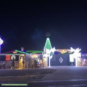Christmas Light display at  288 Aldinga Beach Road, Aldinga Beach