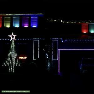 Christmas Light display at 6 Gormon Avenue, Kellyville