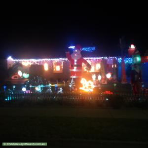 Christmas Light display at 14 Jerome Street, Christie Downs