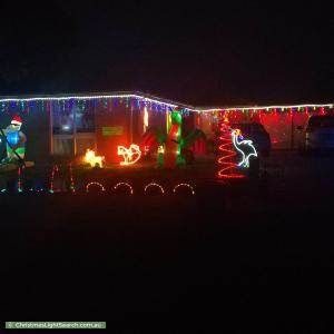 Christmas Light display at 54 Dunrossil Drive, Sunbury