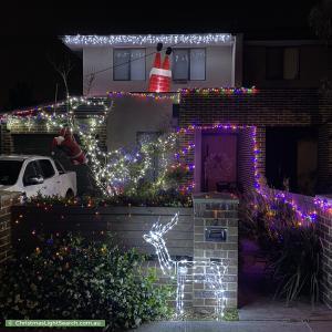 Christmas Light display at 6 McKay Street, Parkdale