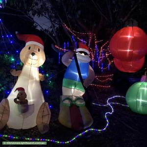 Christmas Light display at 51 Tipiloura Street, Ngunnawal