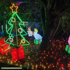 Christmas Light display at 6 Billagal Place, Blaxland