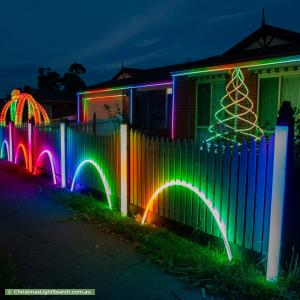 Christmas Light display at 127 Taylor Road, Mooroolbark