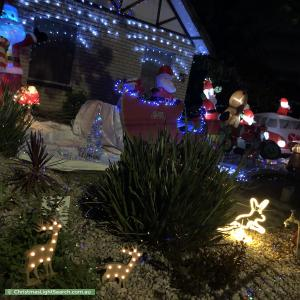 Christmas Light display at 107 Morris Road, Hoppers Crossing