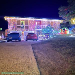 Christmas Light display at 3 Symers Street, Kambah