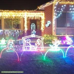 Christmas Light display at  Beela Place, Ngunnawal