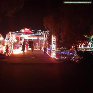 Christmas Light display at 81 Centennial Way, Forest Lake