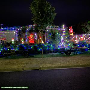 Christmas Light display at 37 Fieldstone Boulevard, Beaconsfield