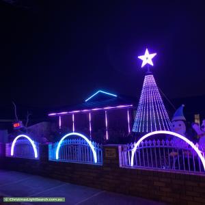 Christmas Light display at 5 Blossom Park Drive, Mill Park