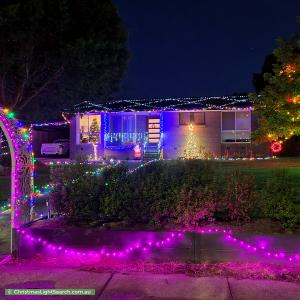 Christmas Light display at 24 Yambina Crescent, Waramanga