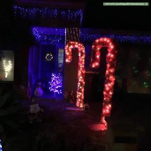 Christmas Light display at 1 Cordoba Way, Mernda