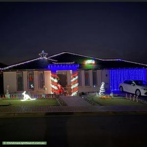 Christmas Light display at  Bondi Drive, Seaford Rise
